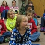 Children Listening at Star of Bethlehem Lutheran Church
