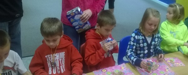 Sunday School Snack at Star of Bethlehem Lutheran Church