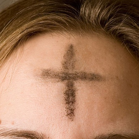 Ash Wednesday begins the Christian's solemn journey through Lent to the cross.