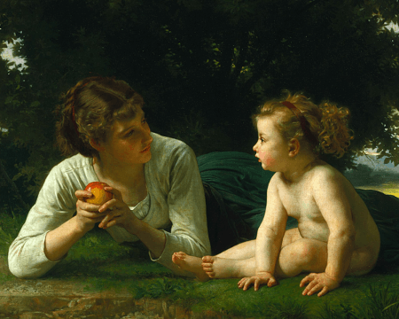If you were Eve. what would you say to your daughter about temptation?