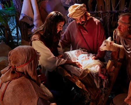 The Savior of the World was born on Christmas day. The Passover is where it needs to start.