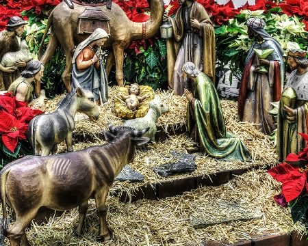 In the town of David a Savior has been born.