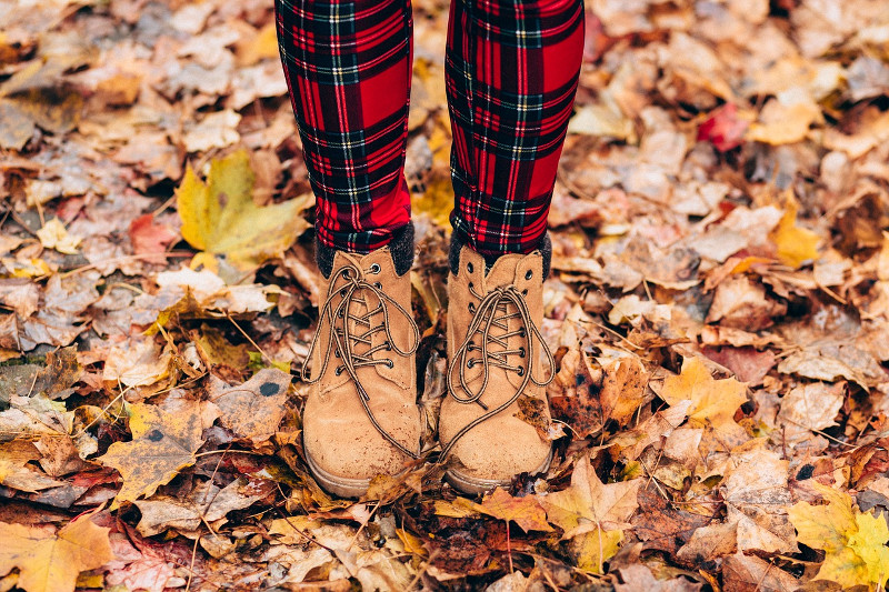 Leaves Boots
